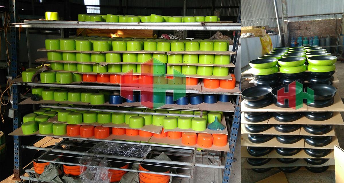 Sự khác biệt của sơn phủ chống dính kim loại Teflon so với sơn phủ Crom